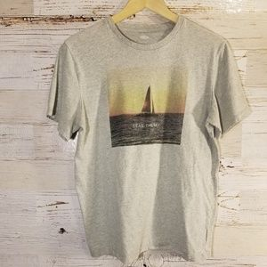 Seas the Day graphic t-shirt
